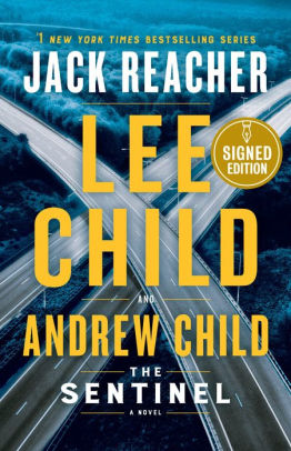 The Sentinel Book Cover by Lee Child and Andrew Child